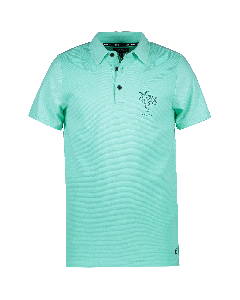 CJ1337 Cars Jeans  SANTOS Polo Aqua