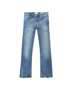 CA5841 Cars women  FLARE DENIM STW USED