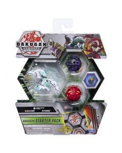 SPINMASTER Bakugan Starter 3 Pack Season 2.0 Mix 4