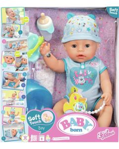 SA1181 Speciale aanbieding  Pop Baby Born Soft Touch Boy 43