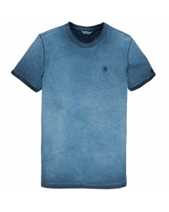 CIR1147 Cast Iron  R-neck cold dyed solid jersey